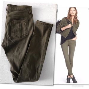 rag & bone Jeans - RAG & BONE THE SKINNY DIST FATIGUE JEANS SZ 25